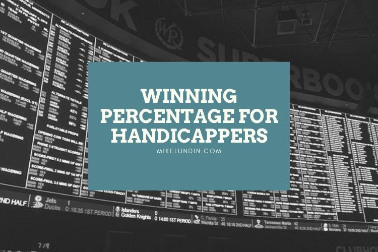 Winning Percentage For Handicappers